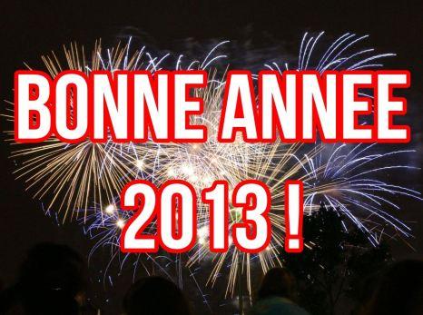 bonne annee 2013 !