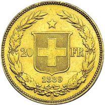 20 frcs Helvetia or