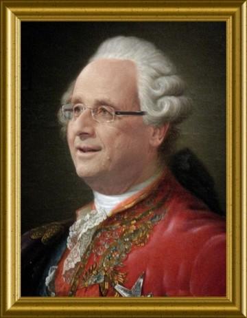 GALERIE DE PORTRAITS : COULOIR DE GAUCHE Hollande-franc3a7ois-xvi