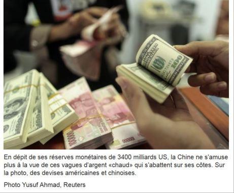 L'Asie nage dans l'argent Richard Dupaul