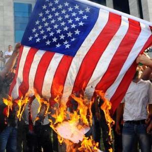 antiamericain drapeau