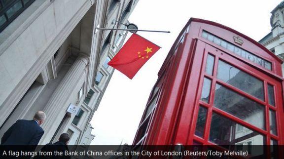 Londres centre bancaire offshore chine