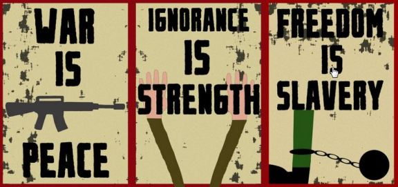 1984 – Ministry of Truth's slogans