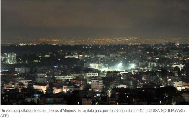 Avec la crise, la moitié des immeubles d'Athènes ne sont pas chauffés