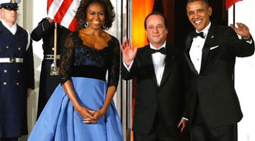 France vassale des Etats-Unis visite de François Hollande outre-Atlantique