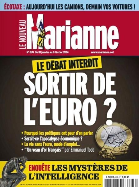 sortir de l'euro le débat interdit