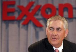 Exxon Rex Tillerson