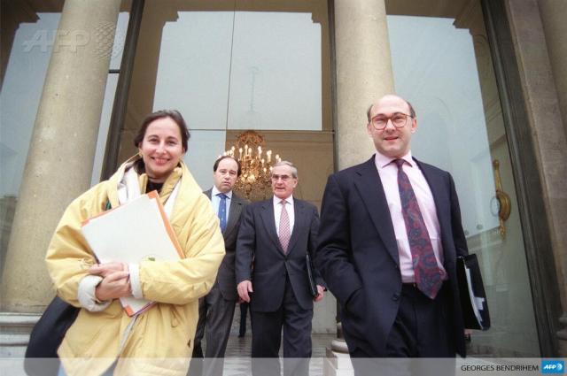 Royal Sapin ministres en 1993