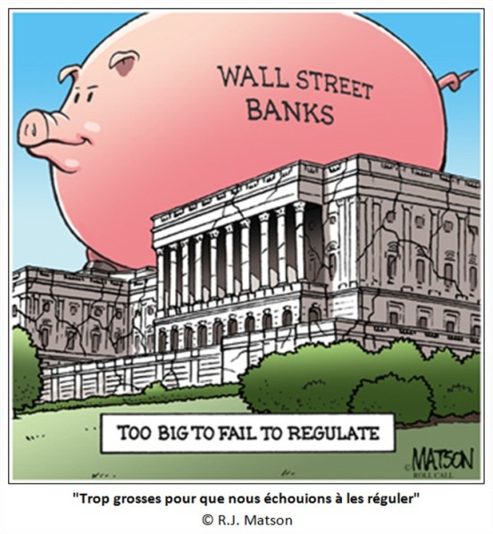 Comment le «too big to fail» fausse la concurrence et accroît le risque de crise bancaire (Ph. Herlin)