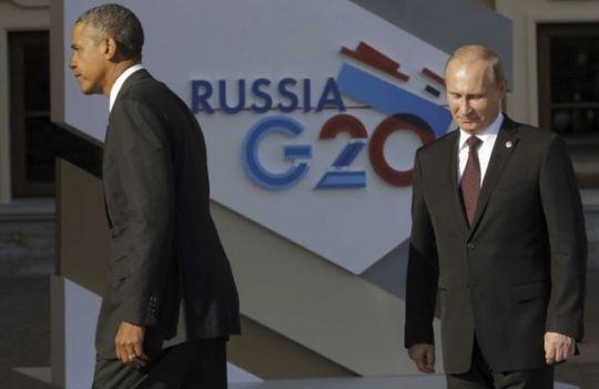 Ukraine Obama Poutine