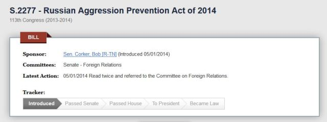 Russian Aggression Prevention Act of 2014