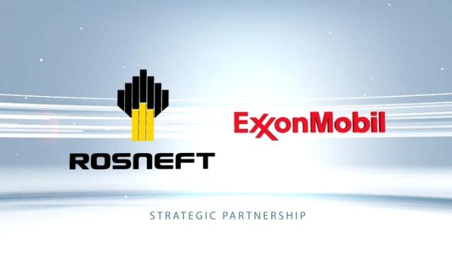 Rosneft ExxonMobil partnership