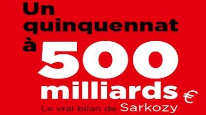 quinquennat sarkozy 500 milliards