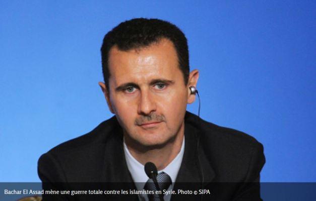 Bachar El-Assad les cotes de popularité de Hollande et Daech sont très proches