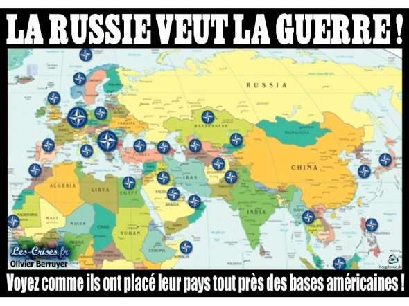 bases otan russie