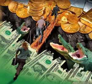 gold-dollar-panic