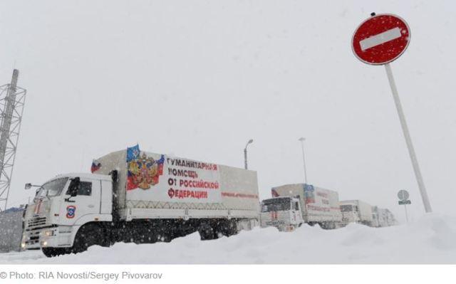 La Russie a livré plus de 10 000 tonnes d'aide dans l'est de l'Ukraine
