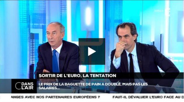 Sortir de l'euro, la tentation - 04122014