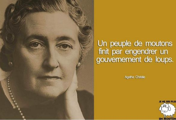 un peuple de moutons - agatha christie