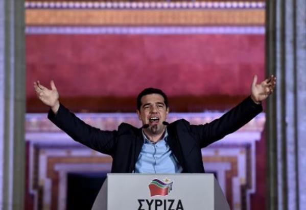 de quoi syriza est il le nom