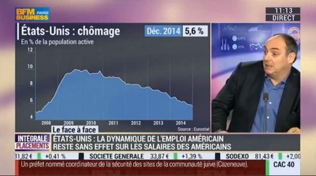 Olivier Delamarche vs Pascale Auclair (1) L'amélioration du marché de l'emploi