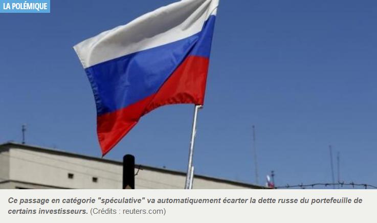 Standard and Poor's dégrade la note de la Russie sur ordre direct de Washington_