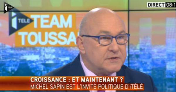 Michel Sapin croissance emploi