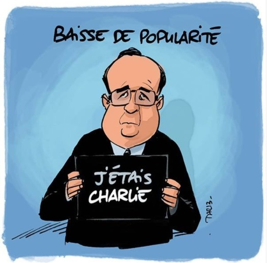 hollande charlie humour