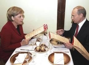 Merkel et Poutine