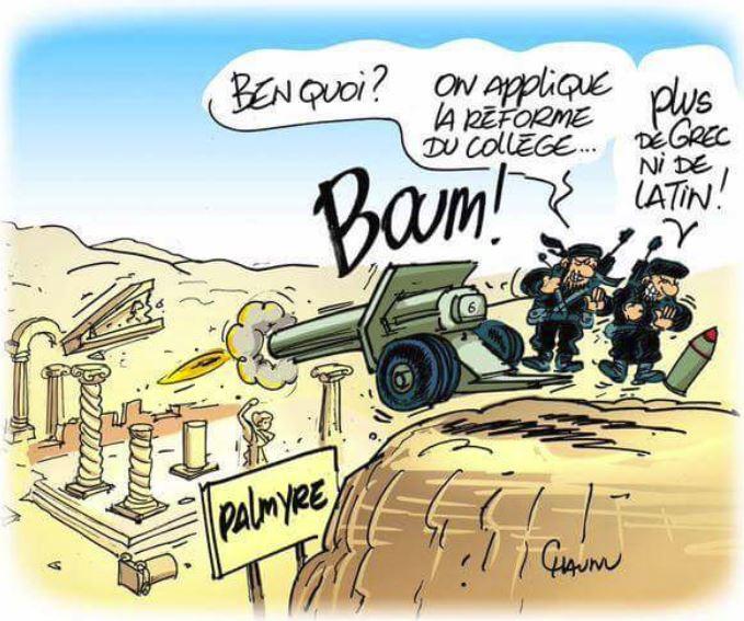 Etat Islamique Najat Vallaud Belkacem