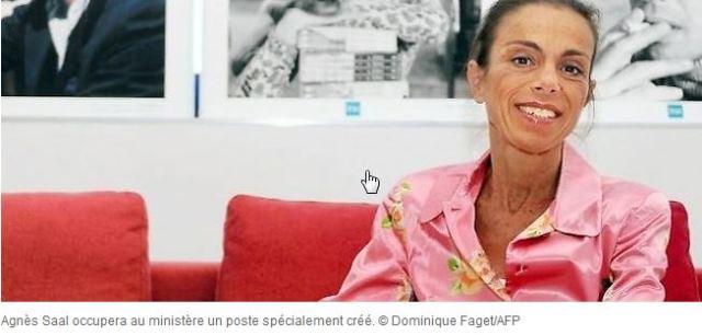 La Caste_Agnes Saal recasee au ministere de la Culture