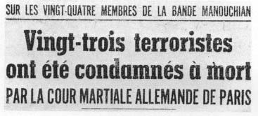 terrorisme des maitres