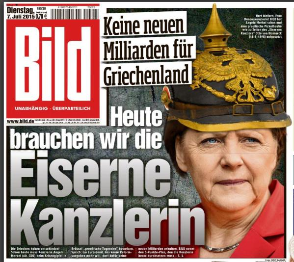 pourquoi Angela Merkel refuse de parler de la dette grecque