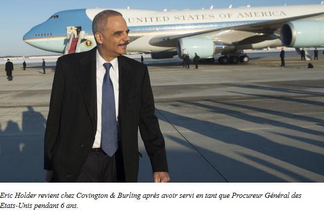 Eric Holder, l'agent double de Wall Street, sort du bois _ Histoires de bankster