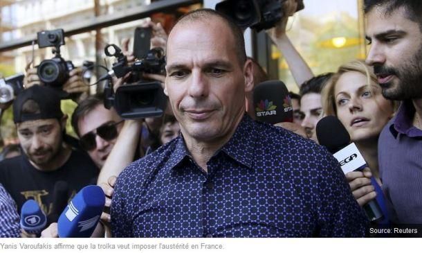 Pour Varoufakis, la France est l'objectif final de la troïka — RT en Français
