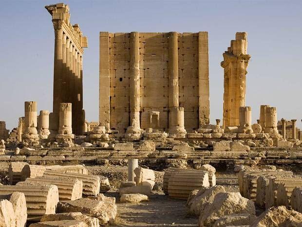 EI destruction pillage sites archeologiques