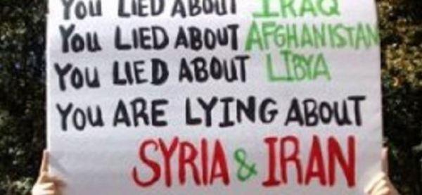 syrie iran irak libye mensonges