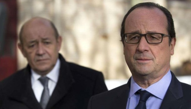 syrie suffit hollande le drian