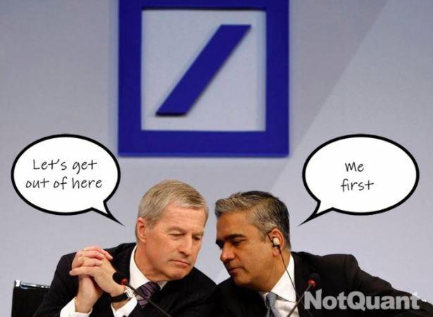 Deutsche Bank Annonce Des Pertes Massives _ Or Argent