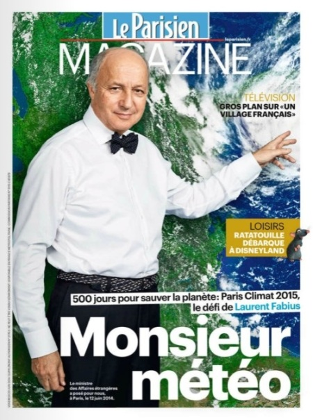 Laurent Fabius Monsieur Meteo