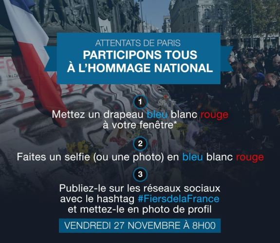 Attentats de Paris _ participons tous à l'hommage national _ Gouvernement.fr
