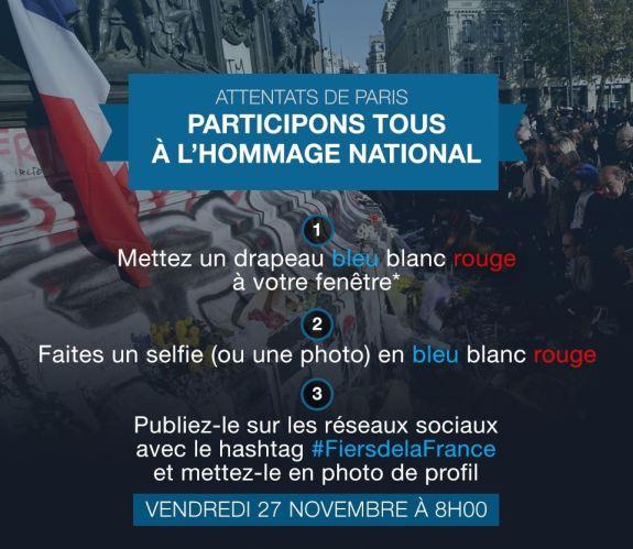 Attentats de Paris _ participons tous à l'hommage national _ Gouvernement.fr
