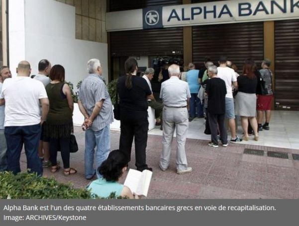 les 4 premières banques grecques ont besoin de 14,4 milliards euros capitaux