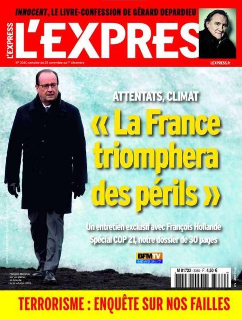 L'Express No 3360 - 25 Novembre au 1 Décembre 2015