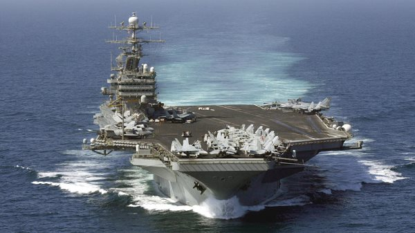 porte-avions nucleaire uss theodore roosevelt