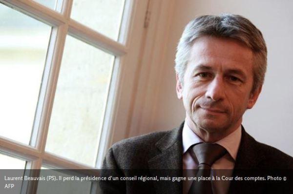 Copinage Laurent Beauvais (PS) Cour des comptes
