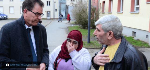 Gerd Muller ministre allemand refugies Europe