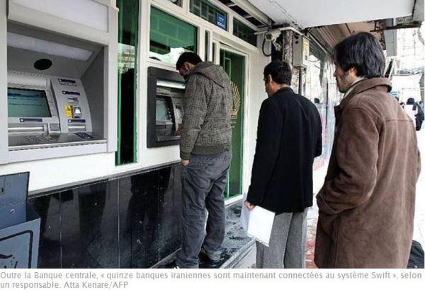 le système Swift fait son retour en Iran