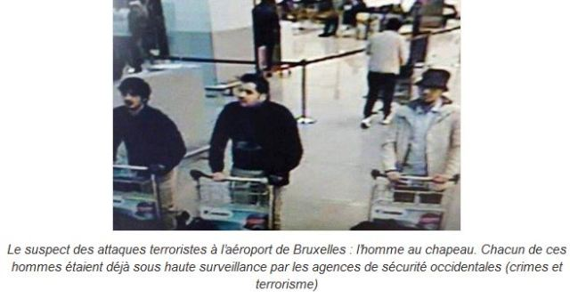 Epingler et relacher programme terroriste occidental