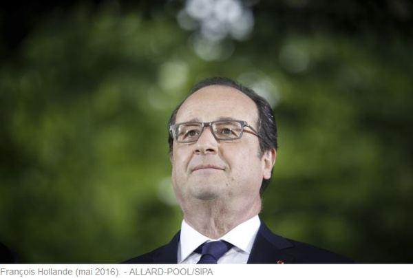 François Hollande Homme d'Etat mondial 2016